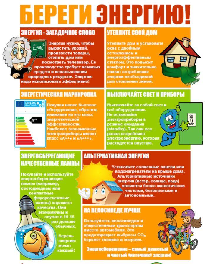 энергосбережение экономия энергии